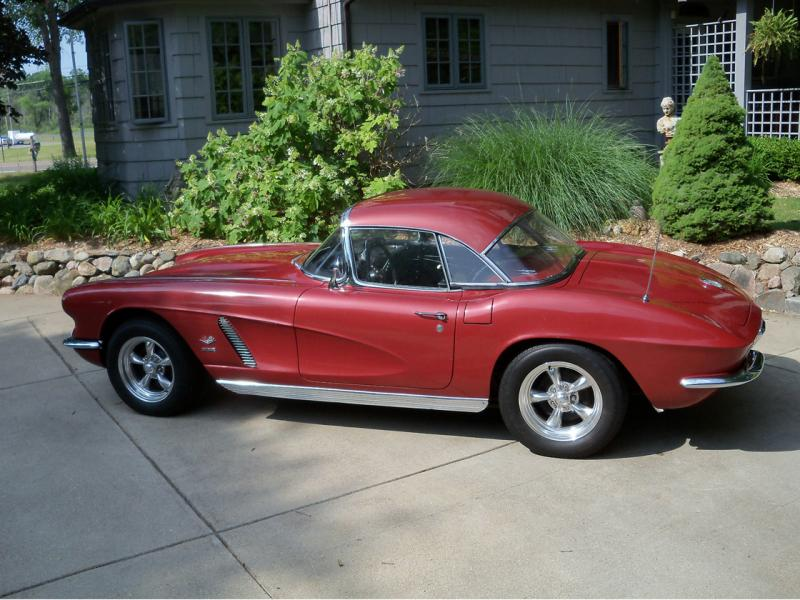 1962 Unrestored Ex-fuelie Fun to Drive! 1962 Honduras Maroon Corvette Convertible For Sale in ==US== – Please visit UsedCorvettesForSale.com for more info and photos. #1962Corvette #UsedCorvettesForSale