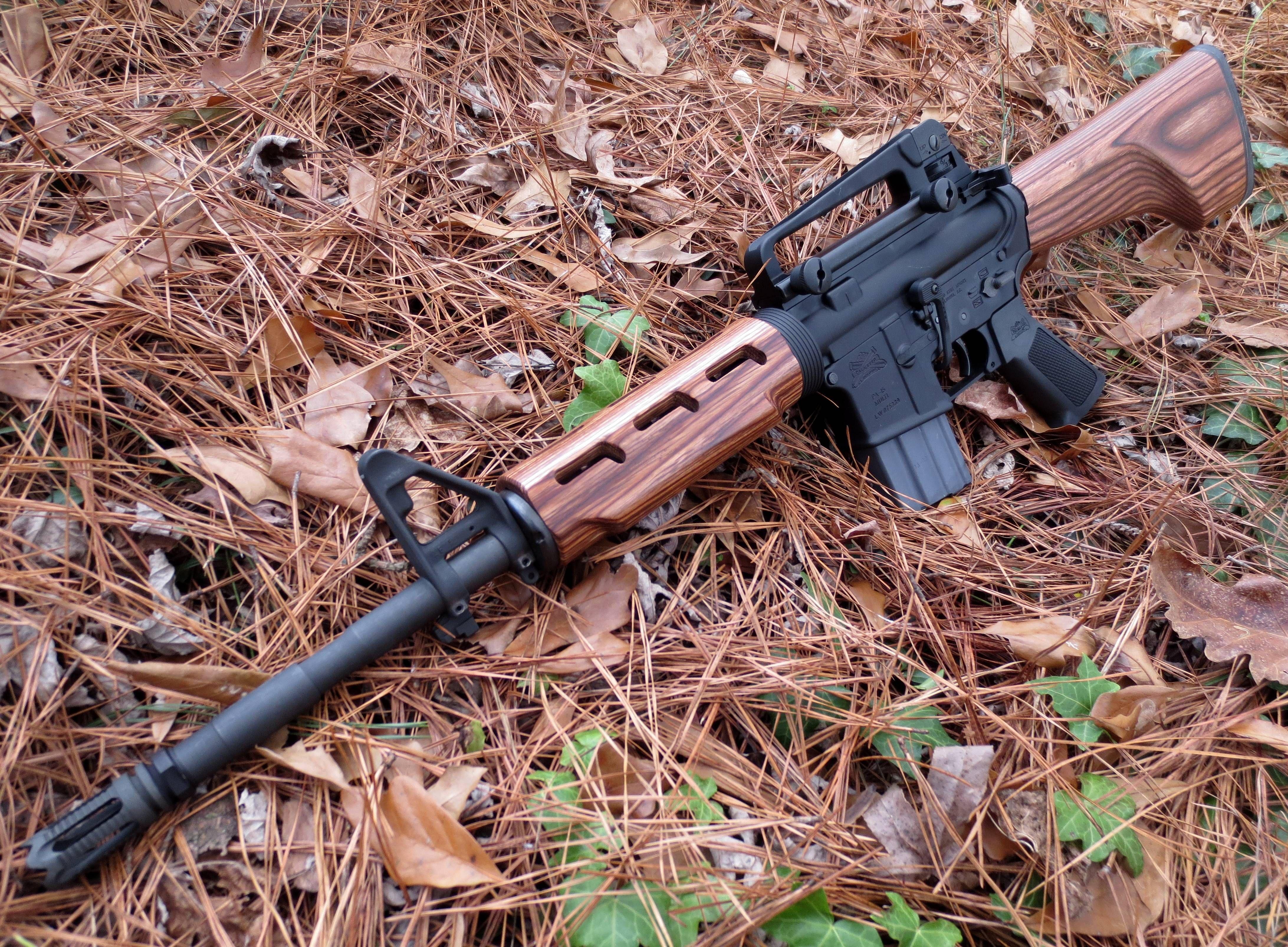 ar 15 w wood