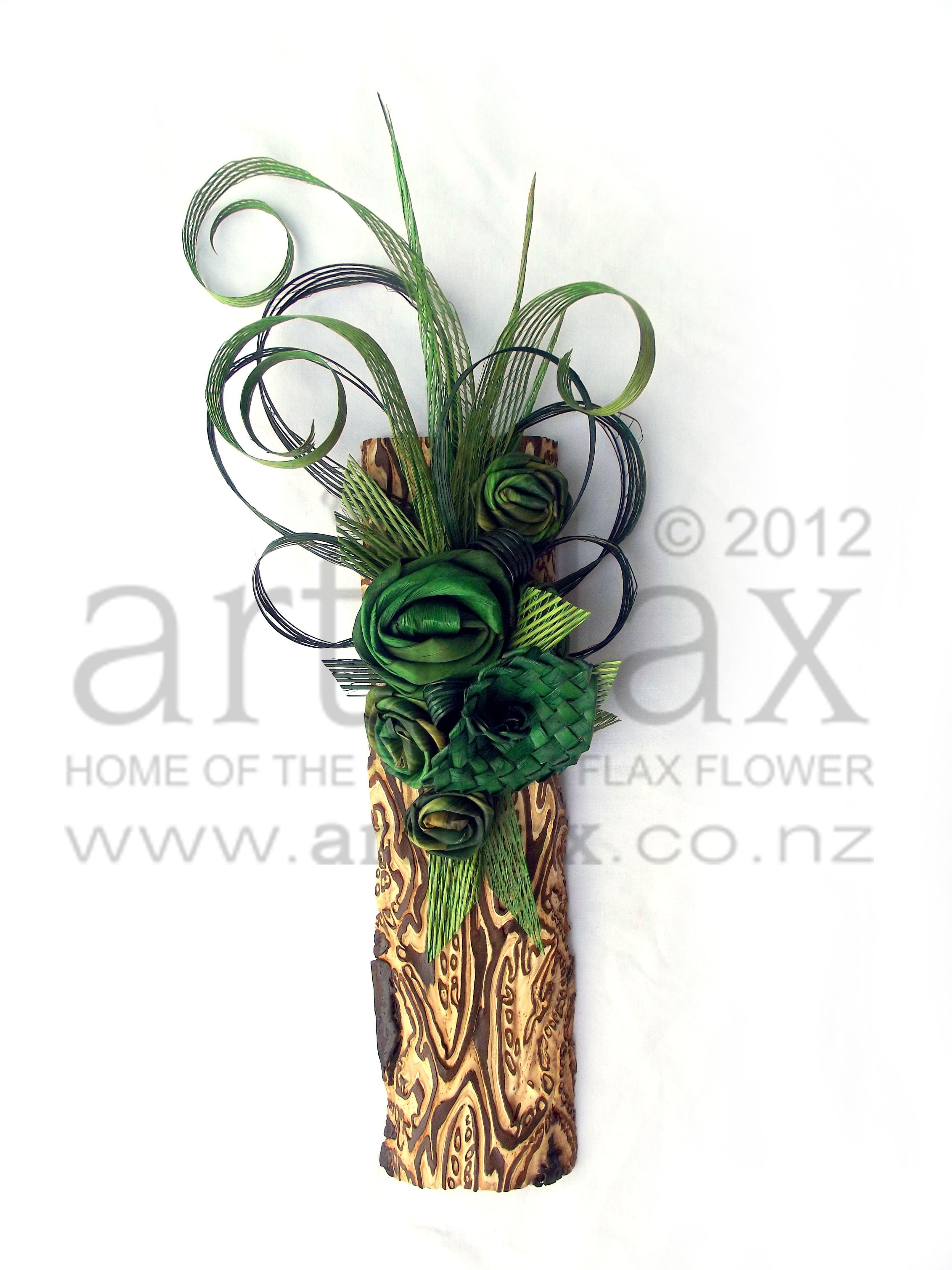 Pin On Flax Flower Wedding Bouquets