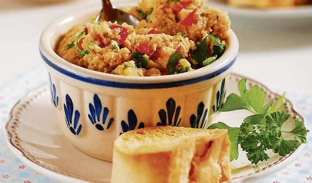 Tip na zdravú večeru: Zeleninová nátierka s bagetou | DobreJedlo.sk