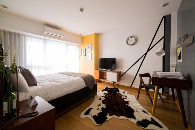 A 97sqm Art Inspired Two Bedroom Condo Unit Two Bedroom Bedroom