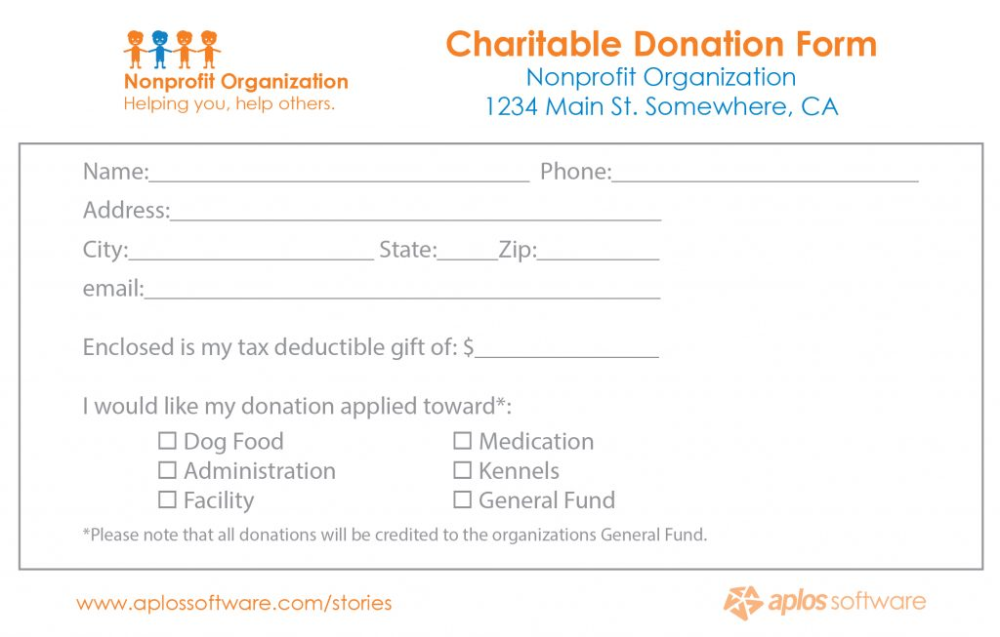 Donation Template Free from i.pinimg.com