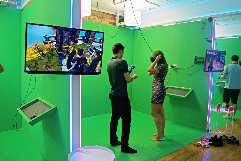 Digital meditation through virtual reality This exhibition