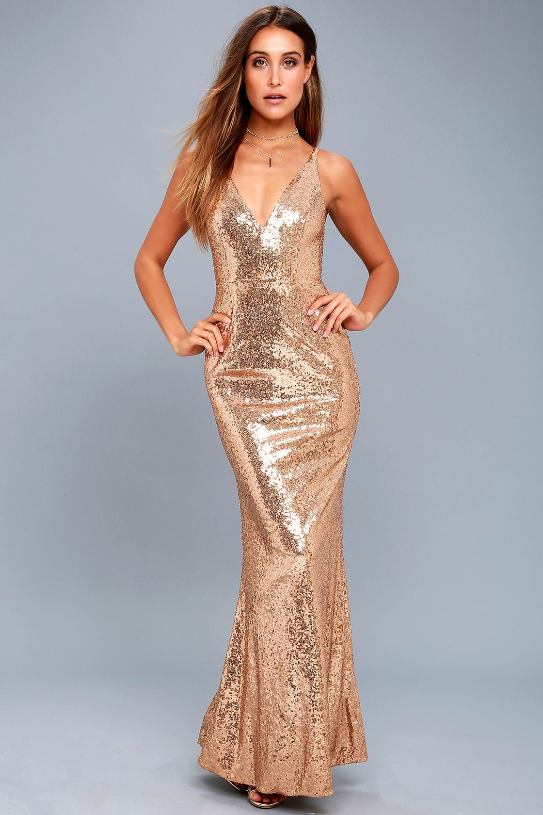 Here To Wow Gold Sequin Maxi Dress Sparkly Dress Gold Sequin Bridesmaid Dress Dresses [ 1680 x 1120 Pixel ]