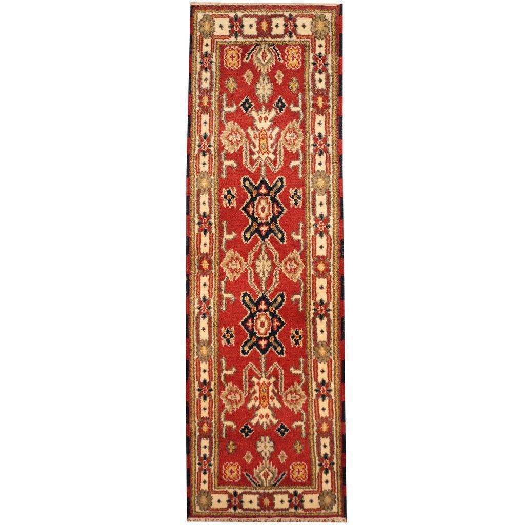 Herat Oriental Indo Hand-knotted Tribal Kazak