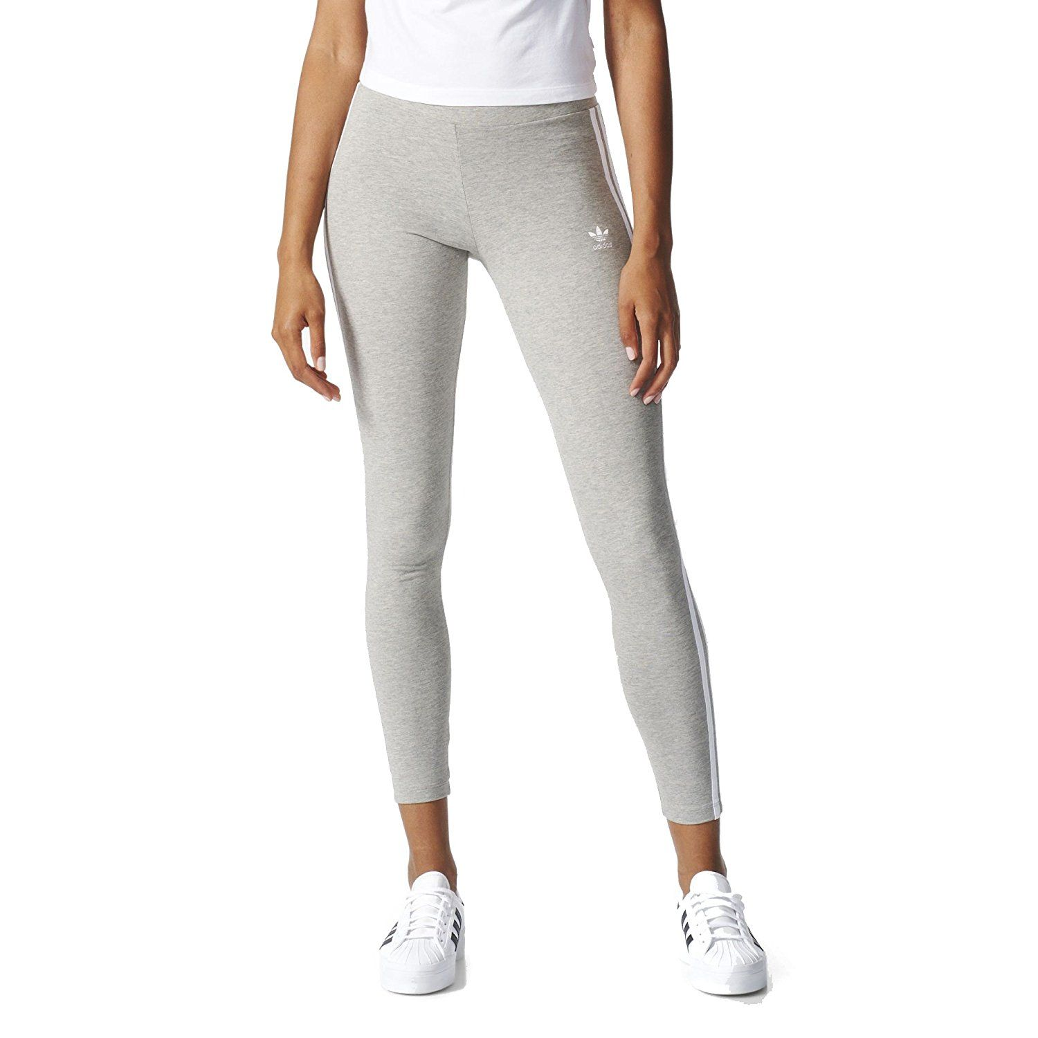 858b08506d66e adidas Originals Women's 3 Stripes Leggings at Amazon Women's Clothing store:  https://