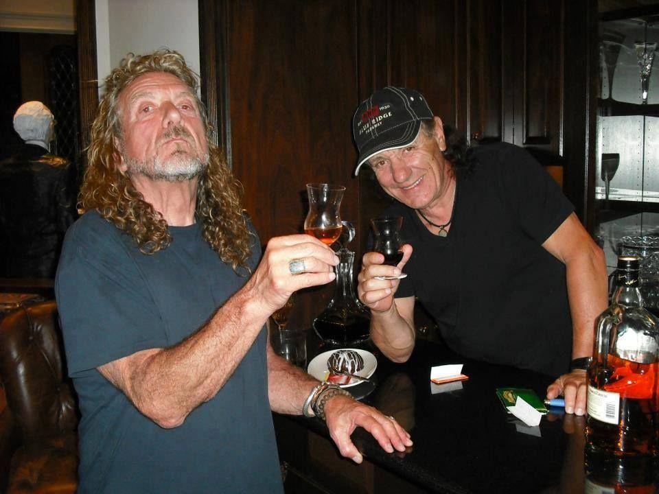 Robert Plant (Led Zeppelin)Brian Johnson(AC-DC)2013