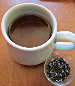 #TheTeaSpot #TeaPorn Lady Lavender brew and leaves