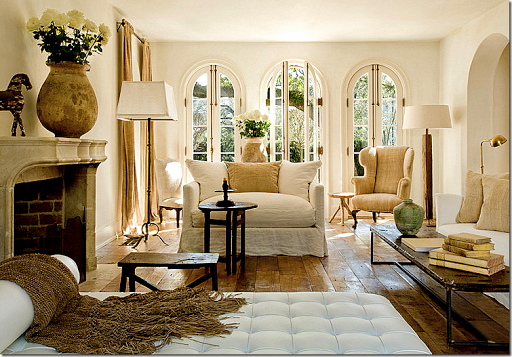 french country sitting room | French living rooms, French ...