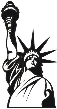 liberty clip art google search gpx pinterest art google rh pinterest com statue of liberty clipart images statue of liberty clipart png