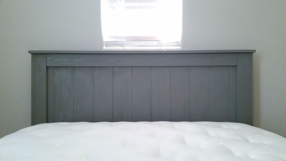 I Needed To Relocate Our Guest Bed And It Ended Up Under A Window. Could  Not Find Any Headboard That Would Fit Under The Window Without Blocking It,  ...