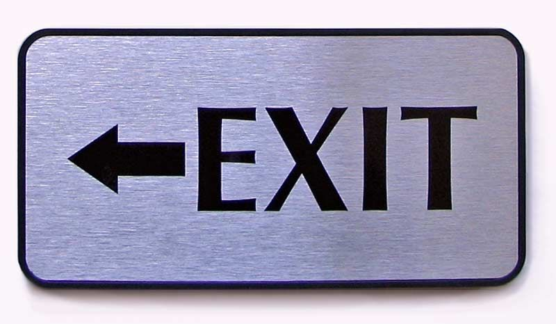 Exit Signs For Office Wall CheckOut Signs Policy Wall Signs For - Office door signs templates