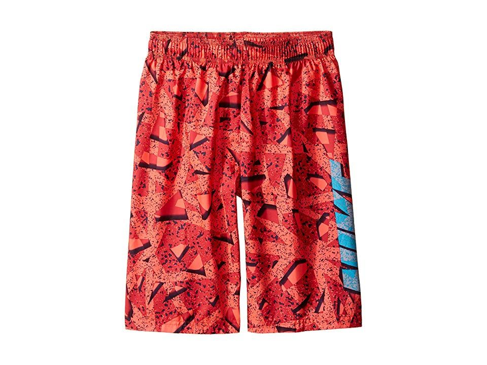 8726a16672 Nike Kids Granite 9 Volley Shorts (Big Kids) (Gym Red) Boy's Swimwear