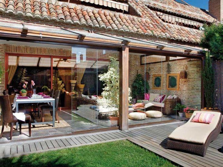 Pin de juan campos osete en pr baja porche jardin - Cristaleras para terrazas ...