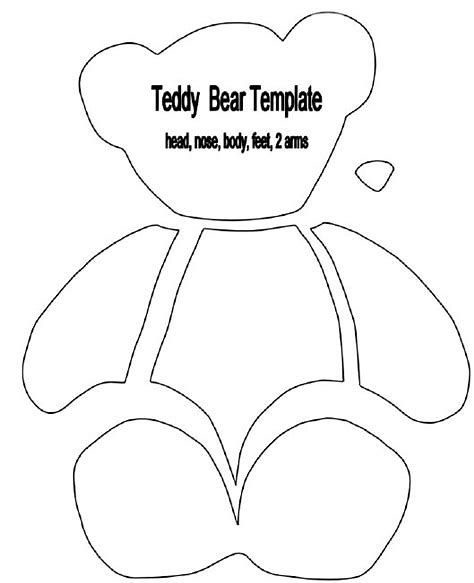 Image result for Big Teddy Bear Sewing Pattern Printable