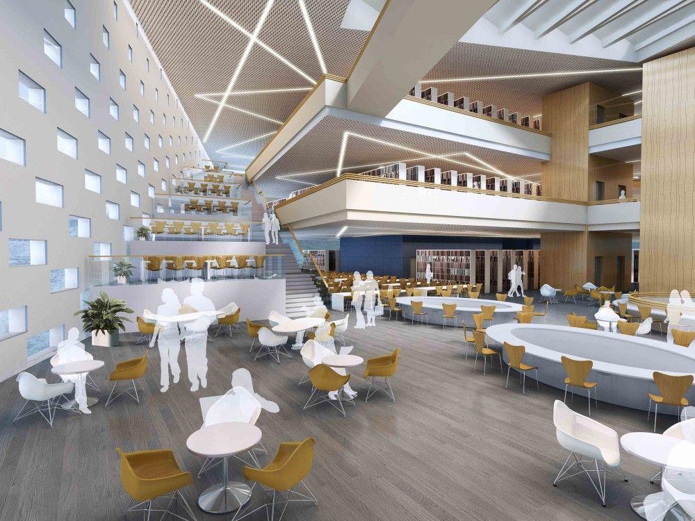 Gallery Of Hebei University Library Winning Proposal Damian