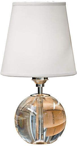 Mini Crystal Orb Table Lamp Clear Regina Andrew In 2018