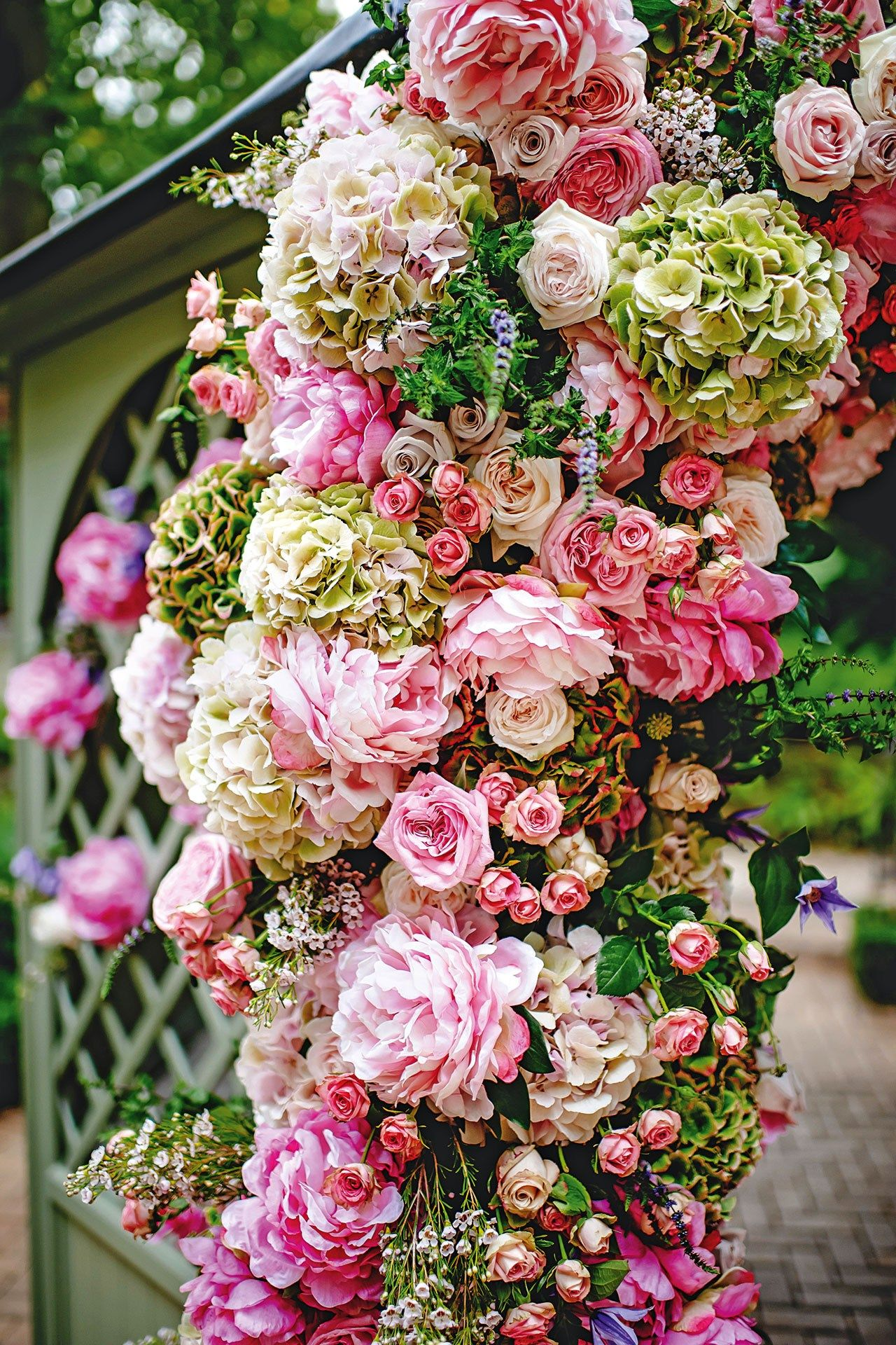 A Magical Flower Filled Day   Floral arch, Wedding and Autumn ...