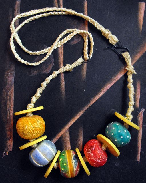 Big Beads Necklace | Flickr - Photo Sharing!