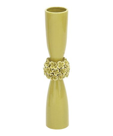 Love this Small Green Ceramic Vase on #zulily! #zulilyfinds