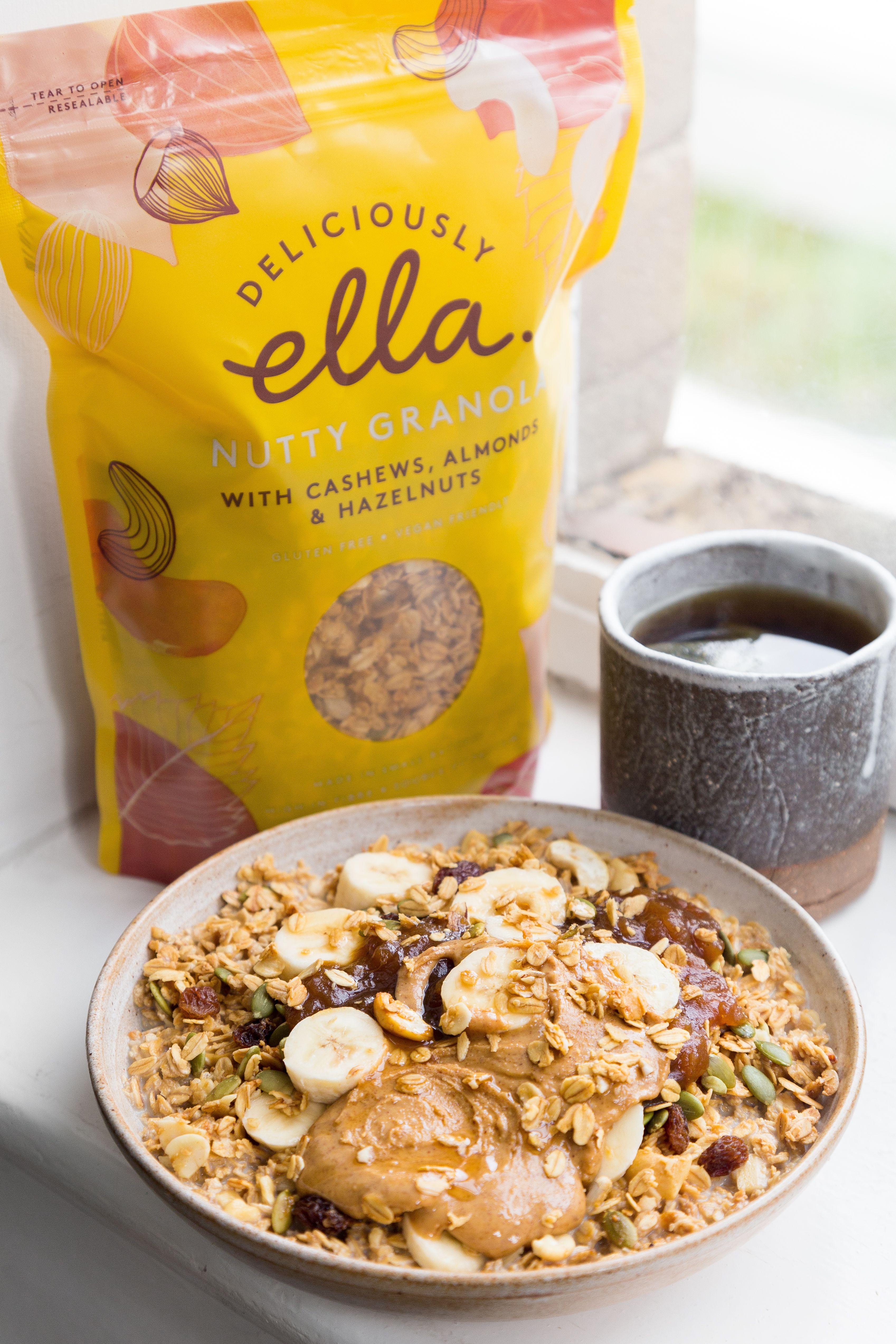 Nutty Granola · Deliciously Ella   Fotografi makanan, Makanan ...