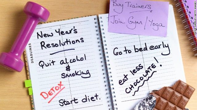Nutrition, fitness experts share their resolutions
