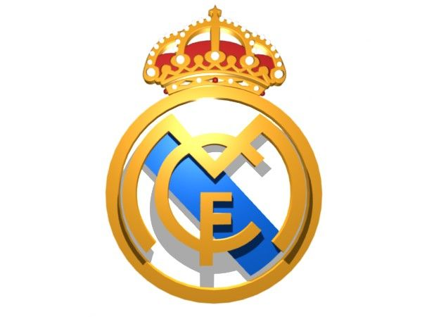 Real Madrid Logo 3d Free Small Medium And Large Images Manchester United Wallpaper Real Madrid Logo Real Madrid