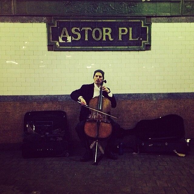 Reasons we love NYC: Symphonies in the subway.