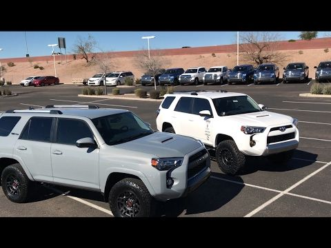 2017 toyota 4runner trd pro vs 4runner trail bro edition. Black Bedroom Furniture Sets. Home Design Ideas