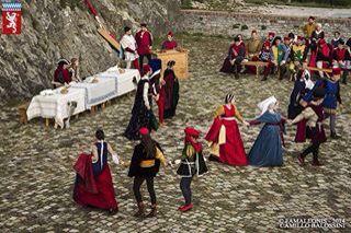 Arte del Torneare, EVENT in San Leo fortress.  Renaissance courts life .