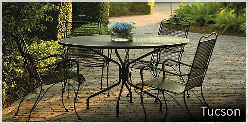 Woodard Tucson Wrought Iron Furniture Sold At Trees N Trends Or At