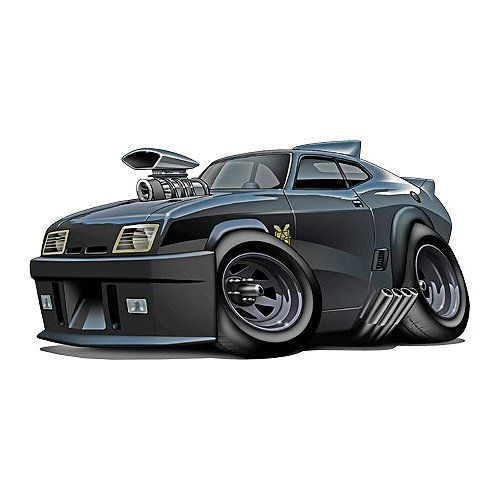 2013 Buick Regal Turbo: Mad Max Inteceptor Movie Car Wall Graphic Decal Decor 36