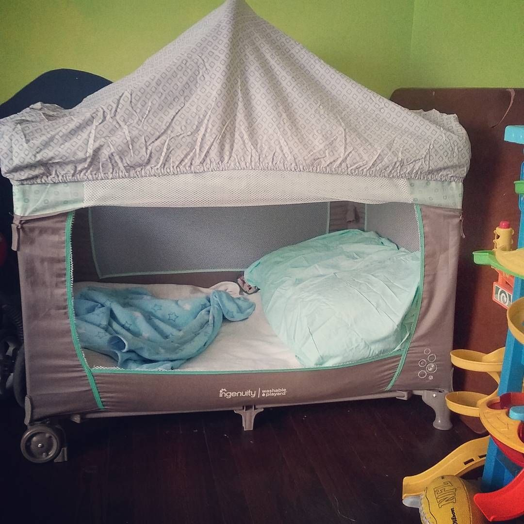 """""""Aydan pack n play....I found this idea on pinterest ..."""