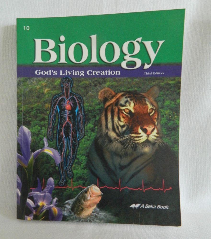 Workbooks glencoe biology workbook : ABeka Biology Student God's Living Creation, 3rd Ed Science ...