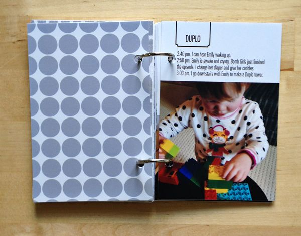 how to make a day in the life mini book mini books pinterest