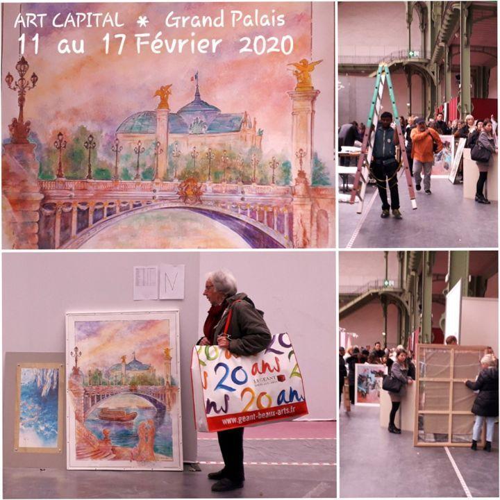 Paris 1 Jour Paris Toujours Dessin Par Christian Eprinchard
