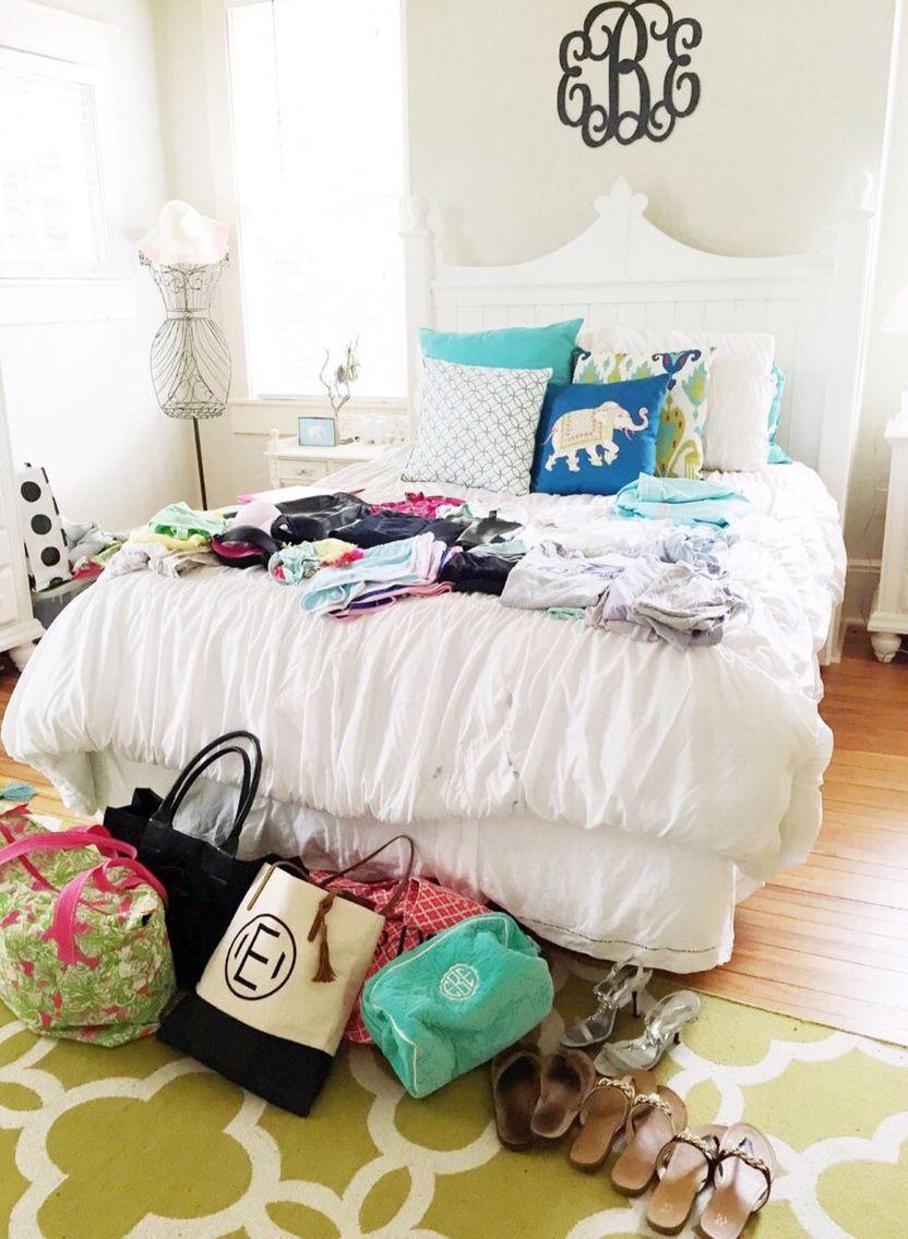 Moonshineeeeee Bedroom Inspo Preppy Home