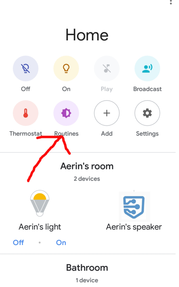 Assistant Routines Easier To Find And Manage Data Storage Device