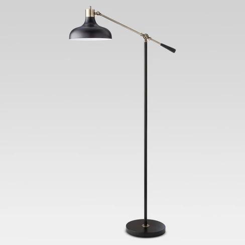 Crosby Schoolhouse Floor Lamp Black Threshold™   Black