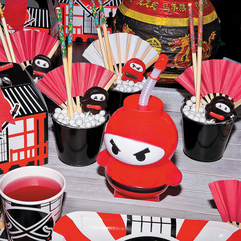 Ninja Lunch plates  Ninja theme party  Ninja  Ninja warrier party
