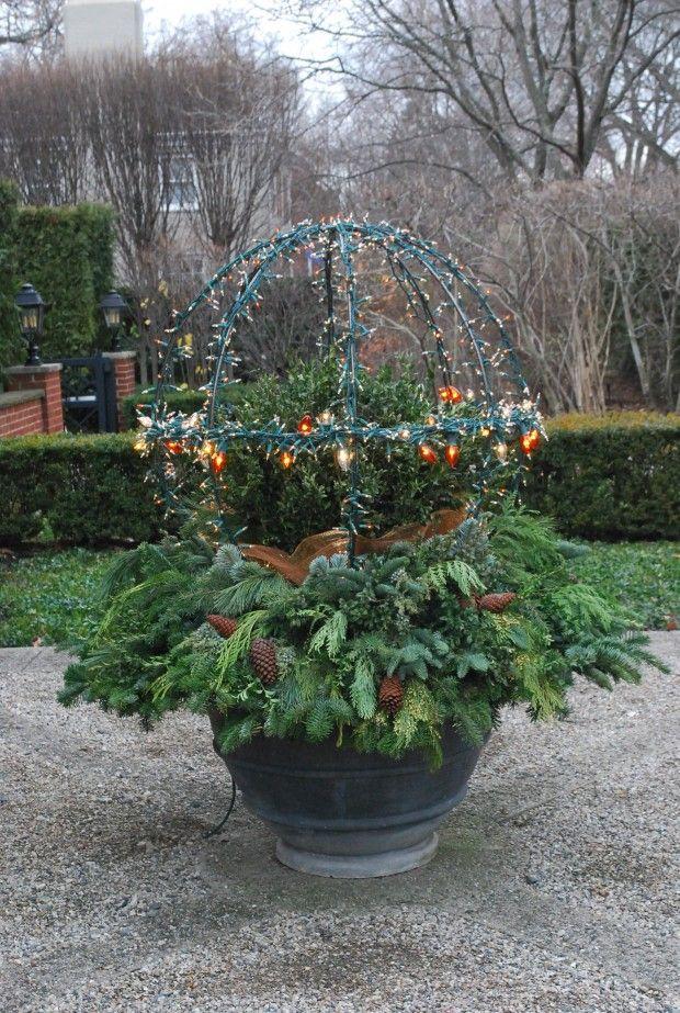 Lighted Sphere Deborah Silver Detroit Garden Works