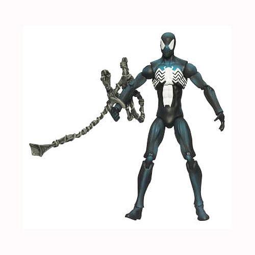 Marvel Universe Figure Black Suited Spider Man Hasbro Toys R Us Spiderman Marvel Figure Marvel
