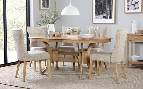 32+ Extending oval dining table and 6 chairs Best