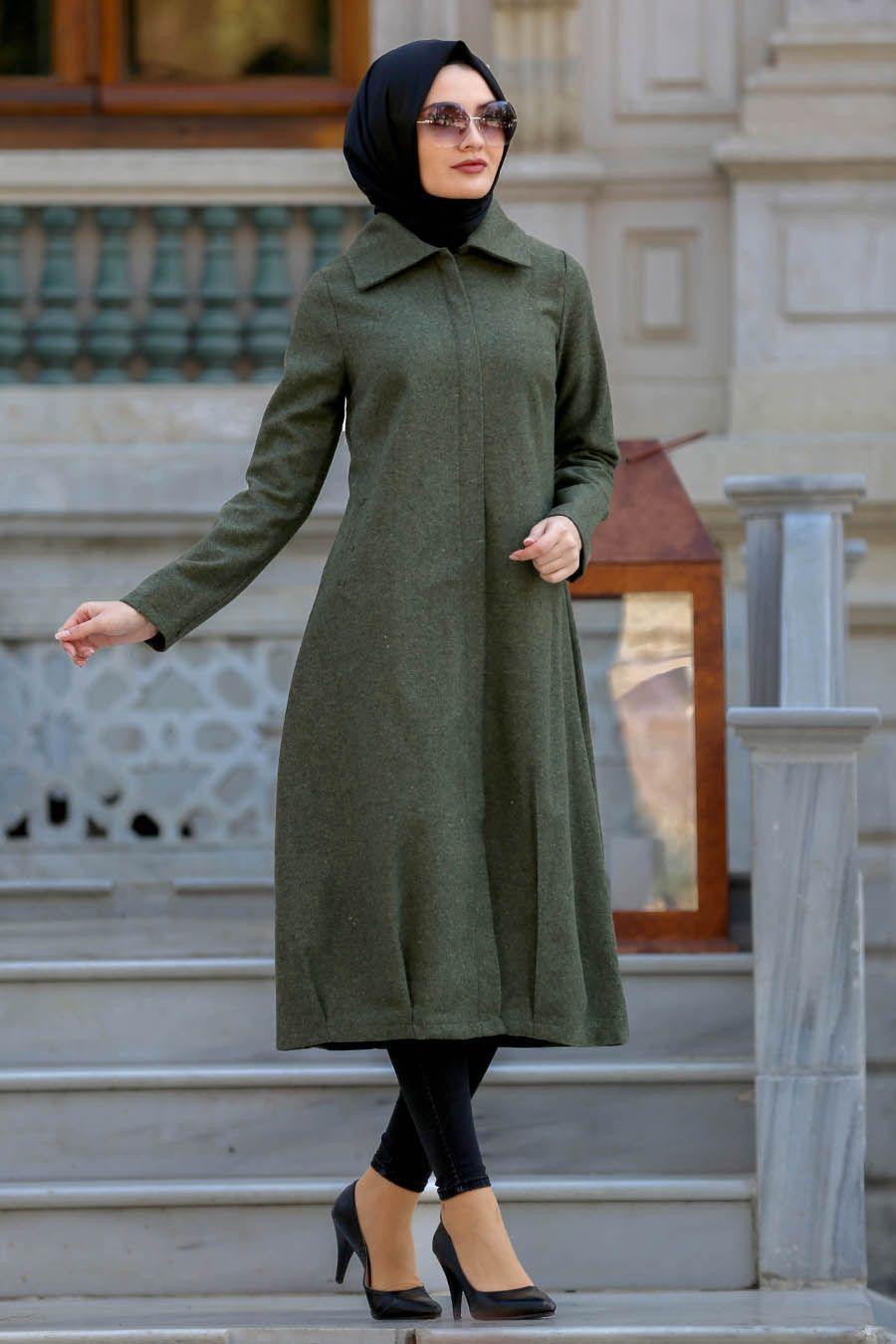 2019 Kış Modası Gri Kabanlar