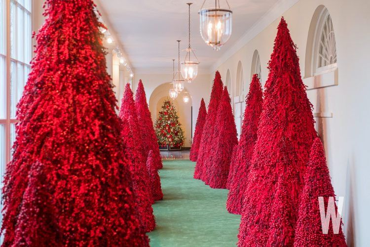 Photos The 2018 White House Christmas Decorations Washingtonian Dc White House Christmas Decorations White House Christmas Tree White House Christmas