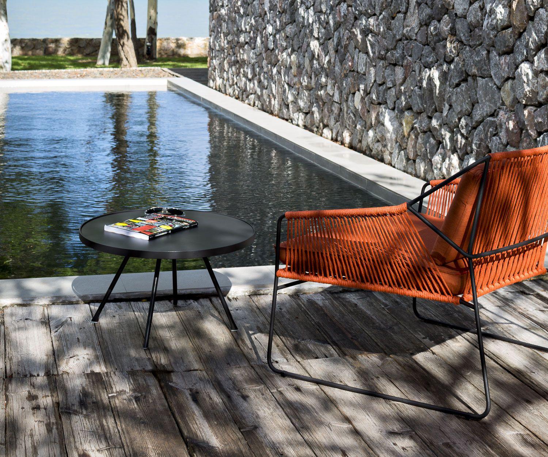 Oasiq Sandur Edelstahl Schnur Serie Im Freien Design Beistelltisch Gartenmobel Design