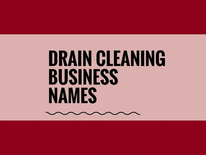 ideas for cleaning business names