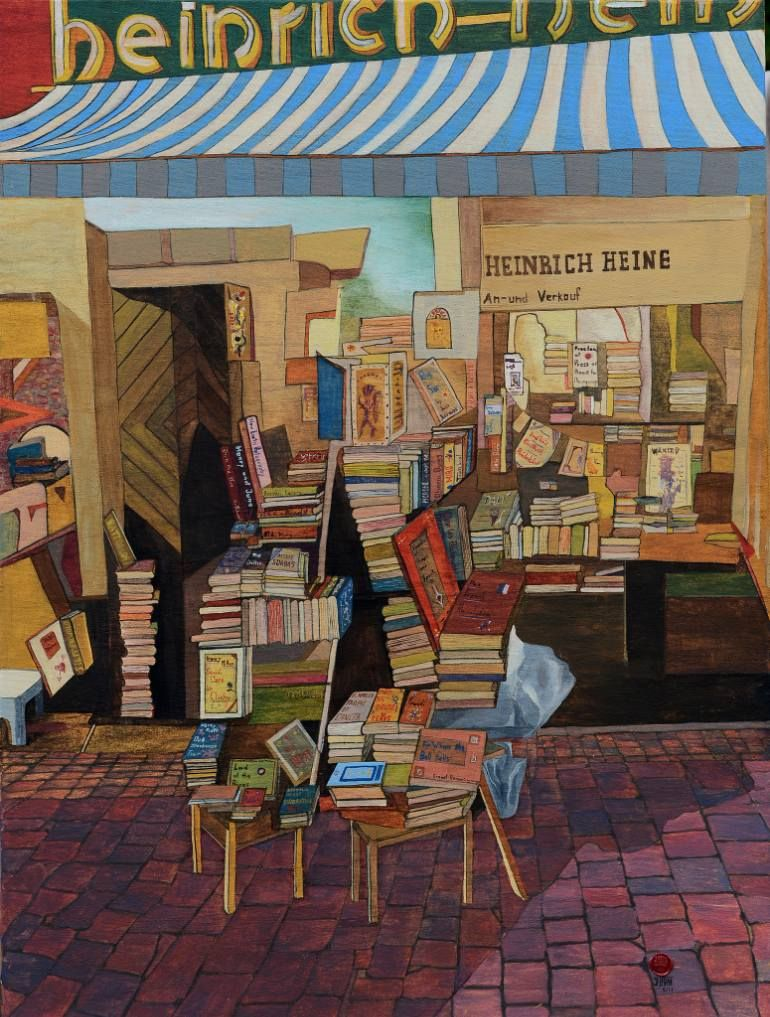Book Shop #literature #booklovers #reading #library #books #art ...