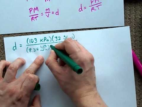 Youtube Gas Ideal Ideal Gas Law Chemistry 101
