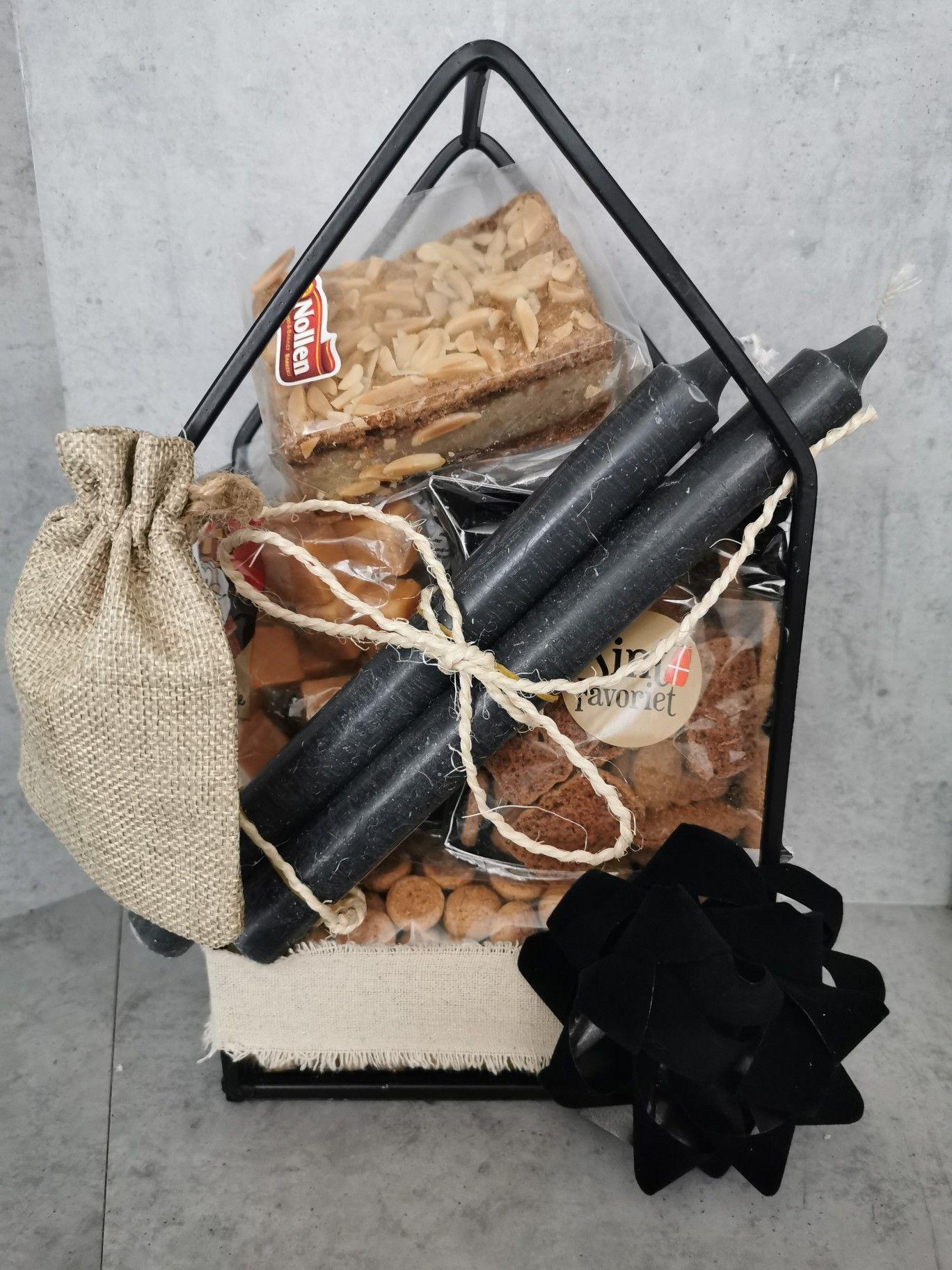Sinterklaaslekkernijen in een pakketje